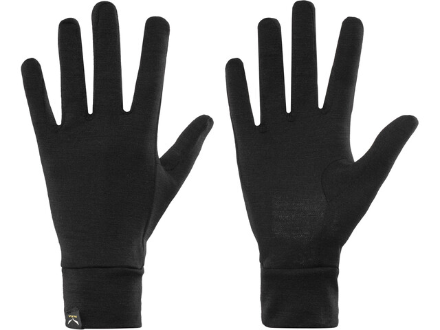 SALEWA Ortles Liner Guantes, black out